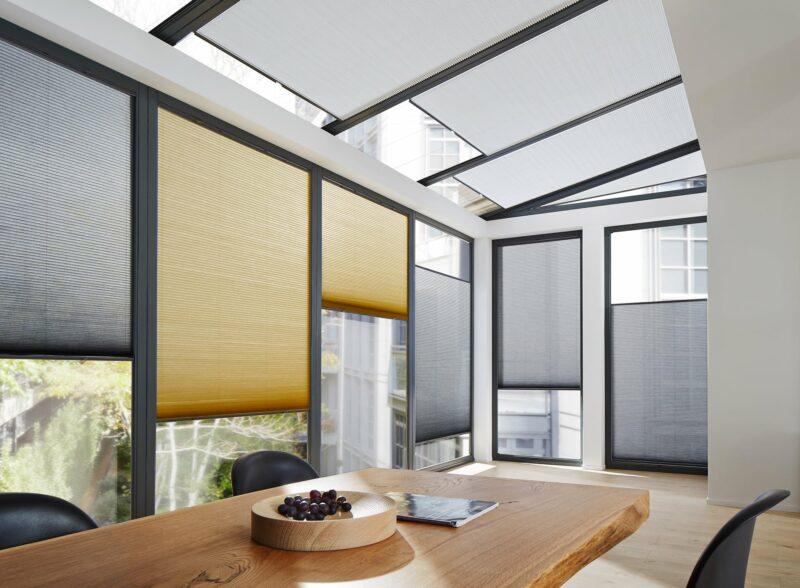 04 Wabenplissee Plafond EOS6