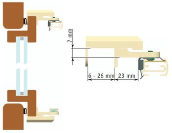 montage mit kunststofftraeger abstaende 1