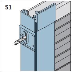 S1 - Seitenführungsschienen 90°/96° Preis 31,90 €